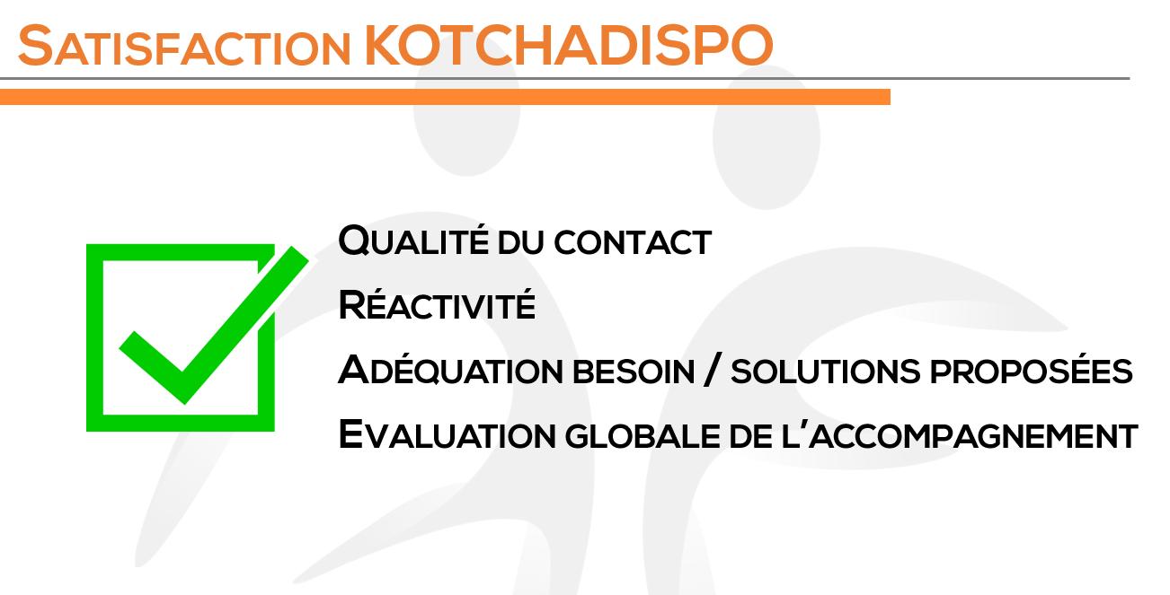 Satisfaction KOTCHADISPO